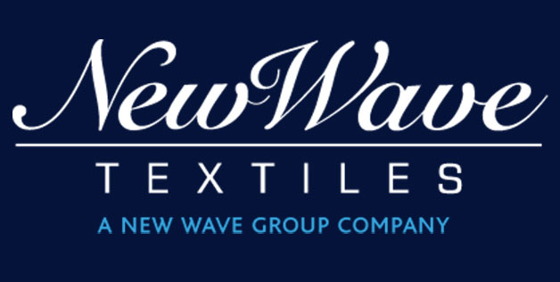New Waves textiles via Strikwerda & Smit