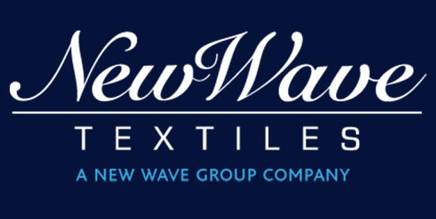 New Waves textiles via Strikwerda & Smit