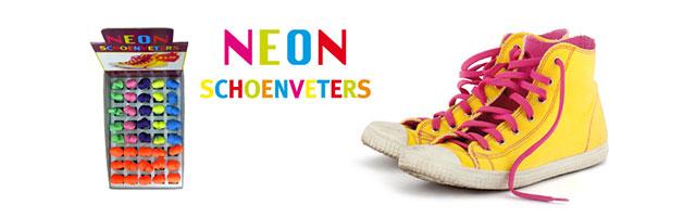Trading neon schoenveters
