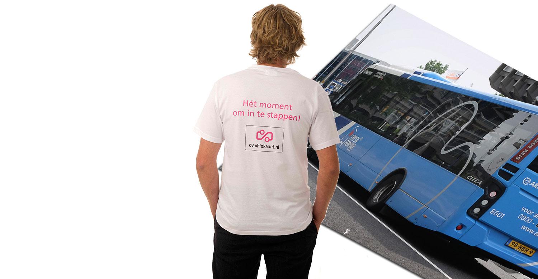 t-shirt bedrukken friesland