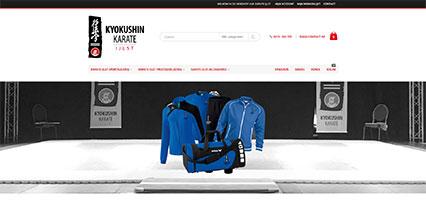 Karate IJlst shop